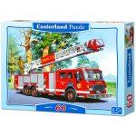 Tűzoltó autó - 60 darabos puzzle