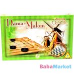 Dáma és Malom társasjáték
