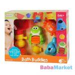 Playgo Állatpajtások fürdőszobai baba játék