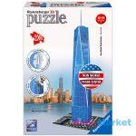 Ravensburger: az új World Trade Center 216 darabos 3D puzzle