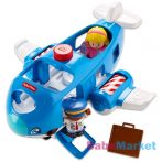 Fisher-Price Little People - Fecsegő repcsi, kék