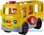 Fisher-Price Little People autópajtások - vidám iskolabusz