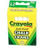 Crayola: Fehér táblakréták