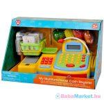 Playgo - Elektromos multifunkciós játék pénztárgép