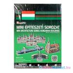 Mini építészeti sorozat 3D puzzle - magyarországi épületek