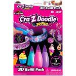 Cra-Z-Doodle: 3D karperec készítő toll utántöltő készlet
