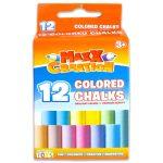 MaxxCreation: 12 darabos táblakréta - színes