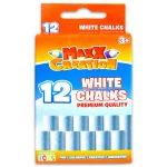 MaxxCreation: 12 darabos táblakréta - fehér