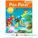 Klasszikusok: Pán Péter mesekönyv matricával