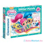 Clementoni: Shimmer és Shine 104 darabos csillámos puzzle