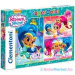 Clementoni: Shimmer és Shine 3 az 1-ben puzzle