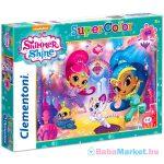 Clementoni: Shimmer és Shine 60 darabos SuperColor puzzle