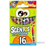 Scentos: 16 darabos illatos zsírkréta
