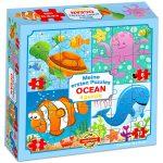 Óceán 4 az 1-ben puzzle