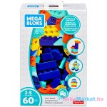 Mega Blocks: Építkezzünk! 60 darabos építőkocka készlet