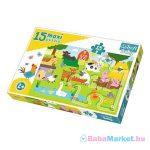 Trefl Baby: Állatok a farmon 15 darabos maxi puzzle