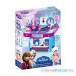Disney hercegnők: Jégvarázs kis játékkonyha 18 kiegészítővel