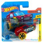 Hot Wheels Art Cars: Poppa Wheelie kisautó