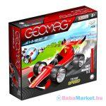 Geomag Wheels: Team Speed 25 darabos szett - piros