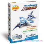 F-16 vadászgép felhúzható 3D puzzle