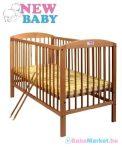 Bükkfa babaágy 120x60 - New Baby Juliet - természetes