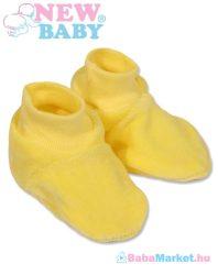 Baba cipő - New Baby sárga 62 (3-6 hó)