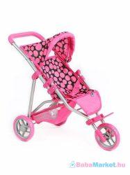 Játék babakocsi -  PlayTo Olivie rózsaszín