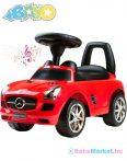 Mercedes benz bébitaxi - red
