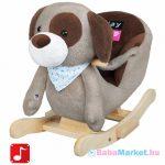 Hintázó állatka - PlayTo kutyus szürke-barna
