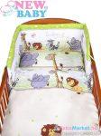 Baba ágynemű szett - 2 részes New Baby 100/135 cm zöld szafari