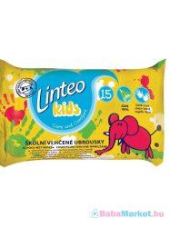 Nedves törlőkendő - Linteo Baby Kids 15 db