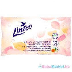 Intim törlőkendő - Linteo Satin 10 db