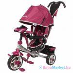 Baba tricikli - Baby Mix Lux Trike rózsaszín