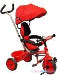 Háromkerekű gyerek tricikli - Baby Mix piros