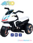 Elektromos kismotor gyerekeknek - BAYO KICK white