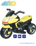 Elektromos kismotor gyerekeknek - BAYO KICK yellow