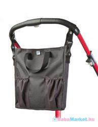 Pelenkázó táska - CARETERO 2v1 graphite