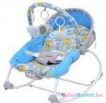 Pihenőszék babáknak - 2in1 Baby Mix dino grey blue