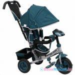 Baba tricikli - Baby Mix Lux Trike zöld