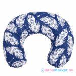 Szoptatós párna - New Baby Tollak kék