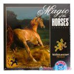 Lovas puzzle ló formájú elemekkel - 239 darabos