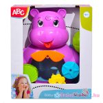 ABC: víziló és teknős fürdőjáték