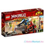 LEGO Ninjago: Kai Pengés Motorja és Zane motoros szánja 70667
