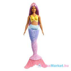 Barbie Dreamtopia: lila hajú sellő Barbie