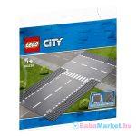 Lego City: Egyenes útszakasz és T elágazás 60236
