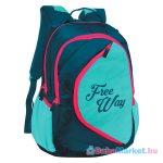 Freeway: hátizsák - rózsaszín-zöld