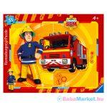 Ravensburger: Sam, a tűzoltó keretes, 33 darabos puzzle