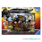 Ravensburger: Így neveld a sárkányodat 100 darabos XXL puzzle