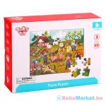 Farm puzzle 49 darabos