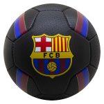 FC Barcelona: címeres focilabda - fekete